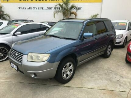 2007 Subaru Forester 79V MY07 X AWD Luxury Blue 4 Speed Automatic Wagon Welshpool Canning Area Preview