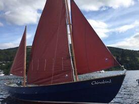Drascombe Lugger Sailing Yacht