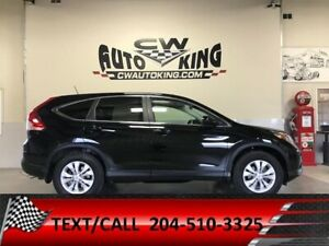 2013 Honda CR-V  EX-L / All Wheel/Leather/Roof/Cam/Bluetooth