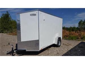 Enclosed Cargo Trailer - Cargo Express 6X12 Plus 2' V-Nose