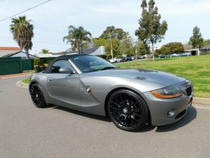2004 BMW Z4 E85 MY05 Steptronic Silver 5 Speed Sports Automatic Roadster