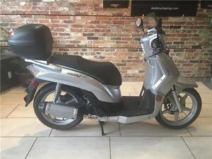2009 KYMCO People S 200 Silver