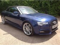 FINANCE AVAILABLE GOOD BAD OR NO CREDIT**** AUDI A5 COVERTIBLE*** £250 PCM
