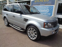 Land Rover Range Rover Sport 2.7TD V6 auto 2008 HSE F/S/H New Turbo P/X