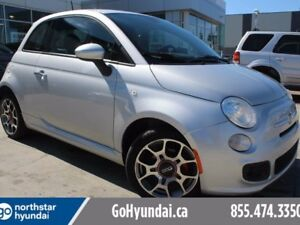 2014 Fiat 500 Sport A/C HALF LEATHER POWER OPTIONS