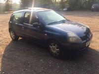 2003 RENAULT CLIO EXPRESSION 16v 1.2cc - £495