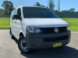 2010 Volkswagen Transporter T5 MY10 Low Roof DSG White 7 Speed Sports Automatic Dual Clutch Van