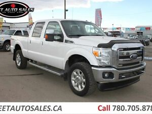 2011 Ford F-350 Lariat Leather Loaded 4x4 Crew Cab !!