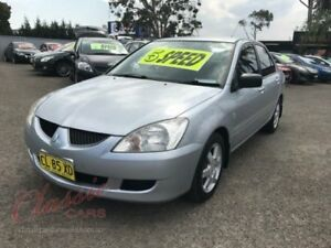 2006 Mitsubishi Lancer CH MY06 ES Silver 5 Speed Manual Sedan Lansvale Liverpool Area Preview