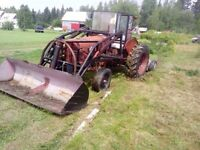 1967 Farm Tractor - Must Sell! Has Several Attatchments!
