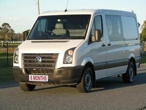 2010 Volkswagen Crafter 2EF2 MY11 50 MWB White 6 Speed Manual Cab Chassis Stapylton Gold Coast North Preview
