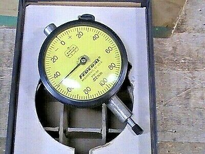 Vintage Federal P81-r1 Miracle Movement Dial Indicator .02mm