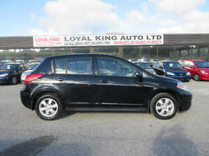 2009 NISSAN VERSA CERTIFIED AND ETESTD CLEAN