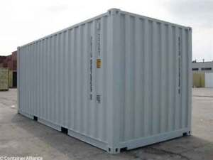 20' New / One-Trip Shipping Container (FVBC)