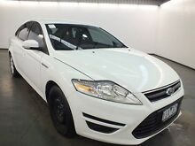 2010 Ford Mondeo MC LX Tdci Frozen White 6 Speed Direct Shift Hatchback Albion Brimbank Area Preview