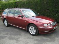 * Rover 75 Estate, 2.0 ltr CDT Diesel, Auto, Club, 2002 *