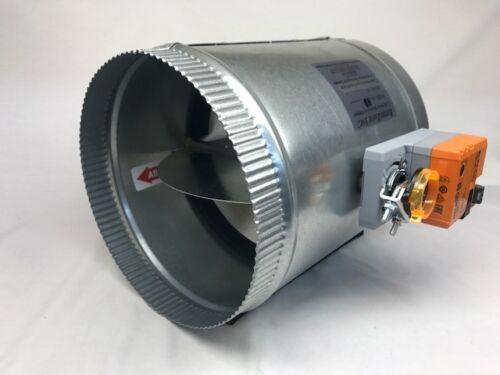 HD-06 inch Retrozone Belimo LMB24 Motorized 24v round zone control damper
