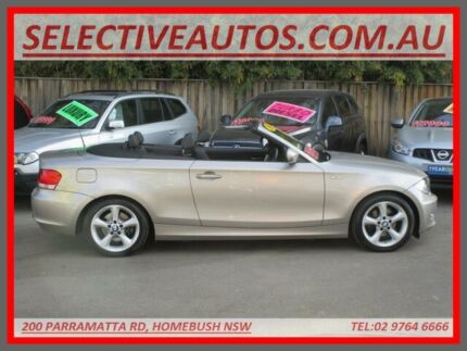 2010 BMW 120i E88 MY11 Beige 6 Speed Automatic Convertible