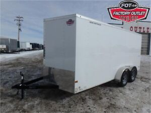 7 X 16 BY WELLS CARGO - LOADED W/OPTIONS FOR ONLY $7,049 TAX IN!