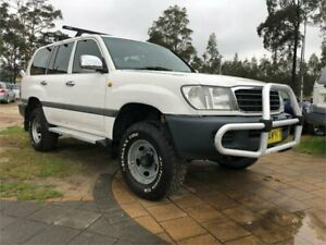 1998 Toyota Landcruiser FZJ105R GXL White 4 Speed Automatic Wagon South Nowra Nowra-Bomaderry Preview