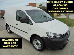 2014 Volkswagen Caddy 2K MY14 TSI160 82,000KMS White 5 Speed Manual Van Wangara Wanneroo Area Preview