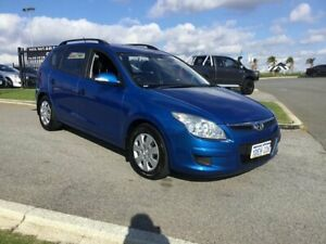 2009 Hyundai i30 FD MY09 CW Sportswagon 2.0 Blue 4 Speed Automatic Wagon Wangara Wanneroo Area Preview