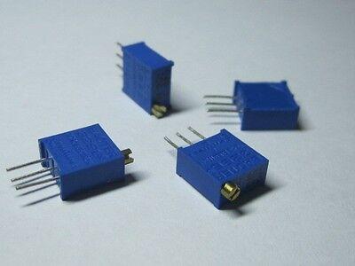 3296 3296w Potentiometer Trimmer Resistors 13 Value Assorted 1001m 130pcs