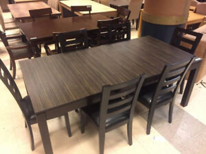 Dining Tables + 6 chairs Liquidations Huge Collection.