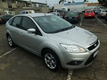 2010 Ford Focus LV MY11 LX Silver 4 Speed Automatic Hatchback Maidstone Maribyrnong Area Preview