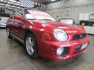 2002 Subaru Impreza MY02 RX (AWD) 5 Speed Manual Sedan Mordialloc Kingston Area Preview