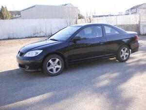 2004 Honda Civic SI Coupé AUTOMATIQUE A/C/TOIT/MAG/220 759KM