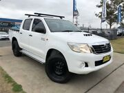 2011 Toyota Hilux KUN26R MY12 SR White Automatic Utility Mulgrave Hawkesbury Area Preview