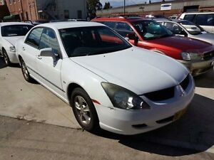 2003 Mitsubishi Magna TL LS White 4 Speed Auto Sports Mode Sedan Georgetown Newcastle Area Preview