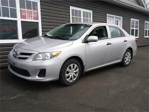 2012 Toyota Corolla CE, AUTOMATIC, NEW MVI, ONLY 67KM