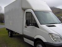 MAN AND A VAN, LUTON BOX VAN HIRE, REMOVAL SERVICE, AUTUMN SPECIAL OFFER MOVE FOR ONLY £85.00