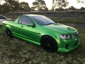 2009 Holden Commodore VE MY09.5 SS Atomic 6 Speed Manual Utility Mayfield East Newcastle Area Preview