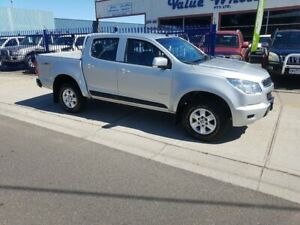2012 Holden Colorado RG LX (4x4) Silver 5 Speed Manual Crew Cab Pickup Dandenong Greater Dandenong Preview