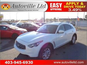 2010 INFINTY FX35 AWD LEATHER SUV 90 DAYS NO PAYMENTS!