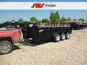 NEW SWS G/N 16' HYD Dump Trailer 2018