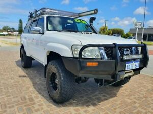 2007 Nissan Patrol GU IV MY07 ST (4x4) White 4 Speed Automatic Wagon Wangara Wanneroo Area Preview