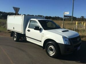2007 Holden Rodeo RA LX White 5 Speed Manual Cab Chassis Margaret River Margaret River Area Preview