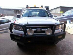 2009 Ford Ranger PK XL (4x2) White 5 Speed Manual Pickup