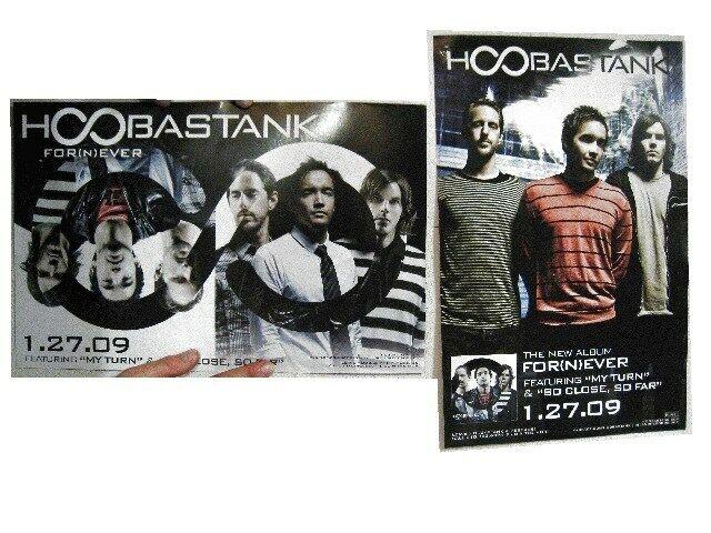 Hoobastank Poster For(n)ever 2 Sided