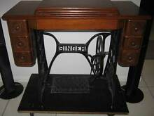 SINGER Antique Treadle Sewing Machine  *Negotiable* Mackay Surrounds Preview
