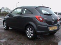 VAUXHALL CORSA 1.2 EXCLUSIVE 3 DR GREY,1 YRS MOT,CLICK ON VIDEO LINK TO SEE CAR IN GREATER DETAIL