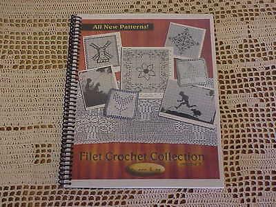 - FILET CROCHET PATTERN BOOK - LOTS OF PATTERNS - Children, geometric, potholders