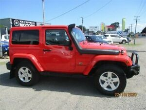 2013 Jeep Wrangler JK MY13 Overland (4x4) Red 5 Speed Automatic Hardtop Heatherbrae Port Stephens Area Preview