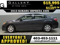 2013 SUBARU IMPREZA AWD *EVERYONE APPROVED* $0 DOWN$119/BW!