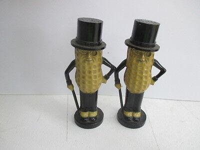Vintage Planters Mr. Peanut Pyro Plastic Salt & Pepper Shakers