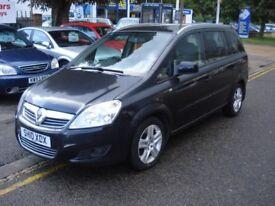 Vauxhall Zafira 1.7 CDTi ecoFLEX, 2010 model, Full leather, Full MOT